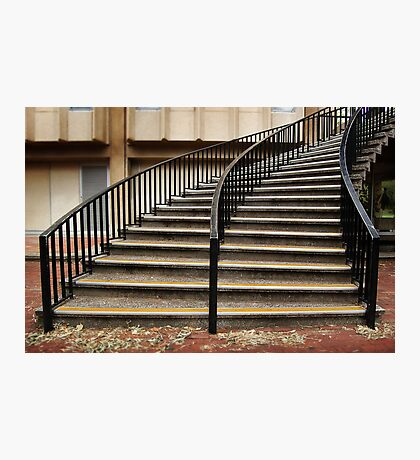 University Stairs Photographic Print