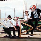 Gondoliers by Mike  Segura