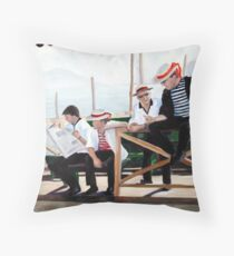 Gondoliers Throw Pillow