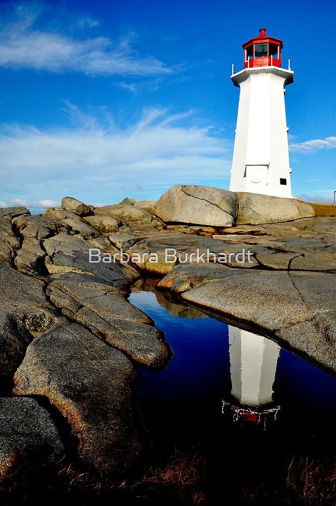 On Watch - Nova Scotia by Barbara Burkhardt