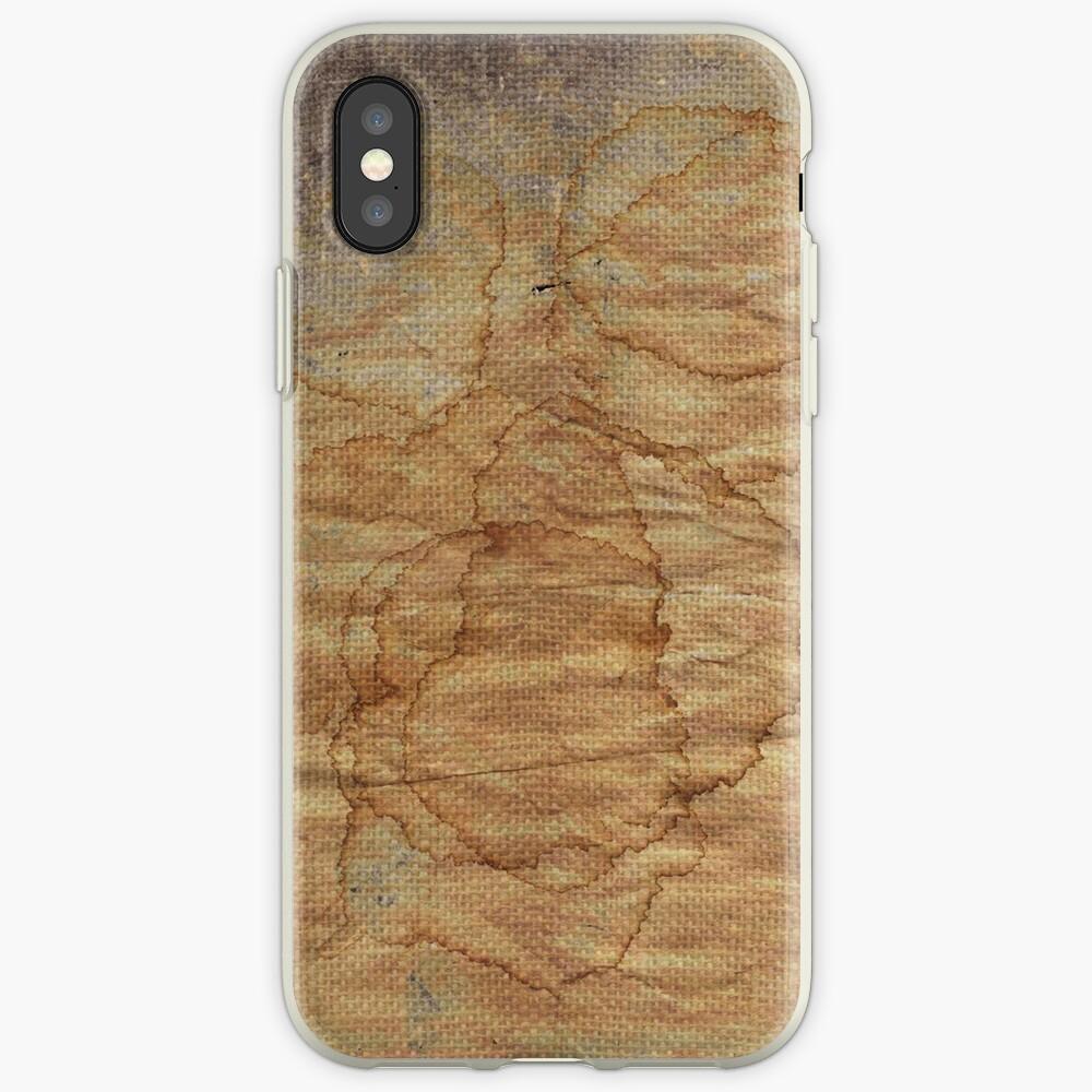 alte schmutzige Leinwand iPhone-Hüllen & Cover
