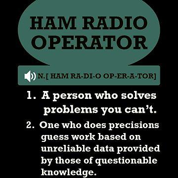 Ham Radio Operator by Vroomie