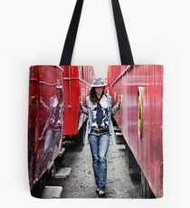 Red Hot Tote Bag