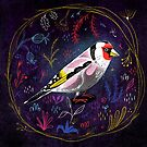 Fehérlólánya - Glowing Birds / Goldfinch by ManzardCafe