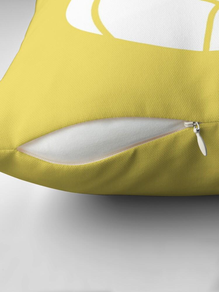 Alternate view of Endo Warrior Throw Pillow