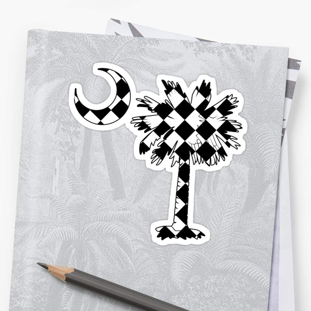Checkered Flag Palmetto Moon by PalmettoTrading