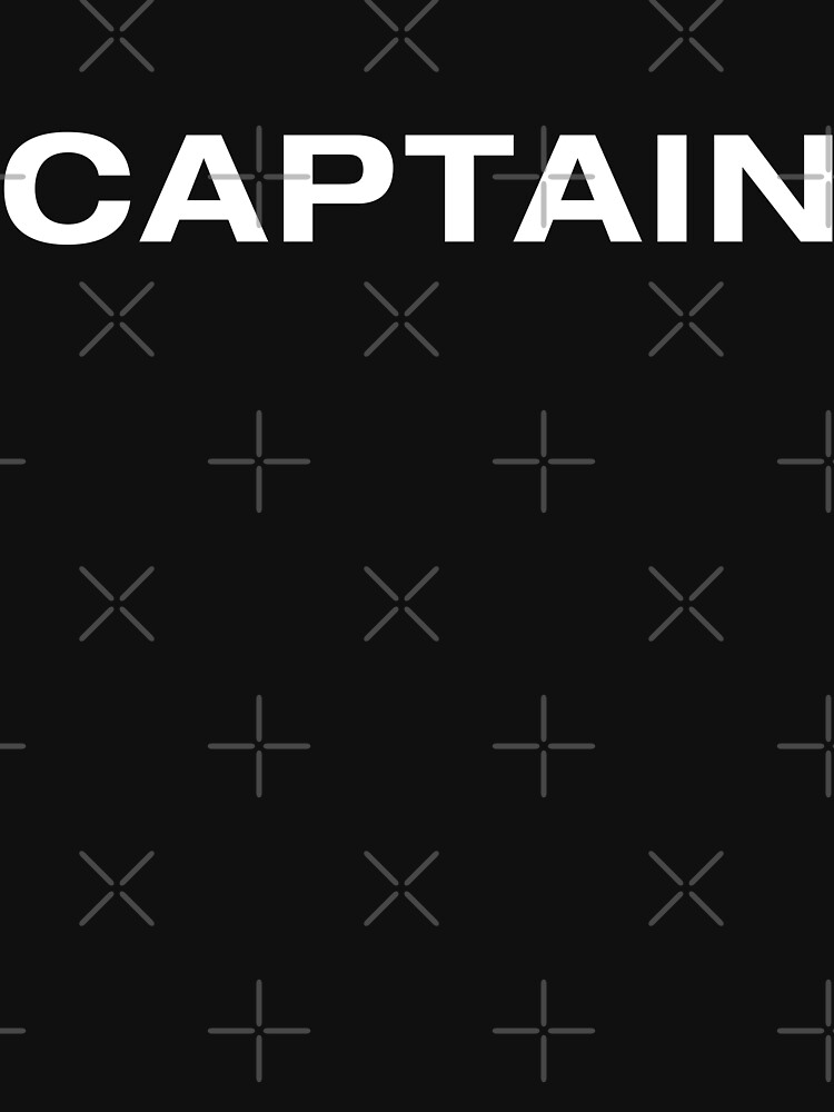Captain (White Text) by RoufXis