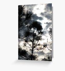 Sunset Through Clouds II Greeting Card