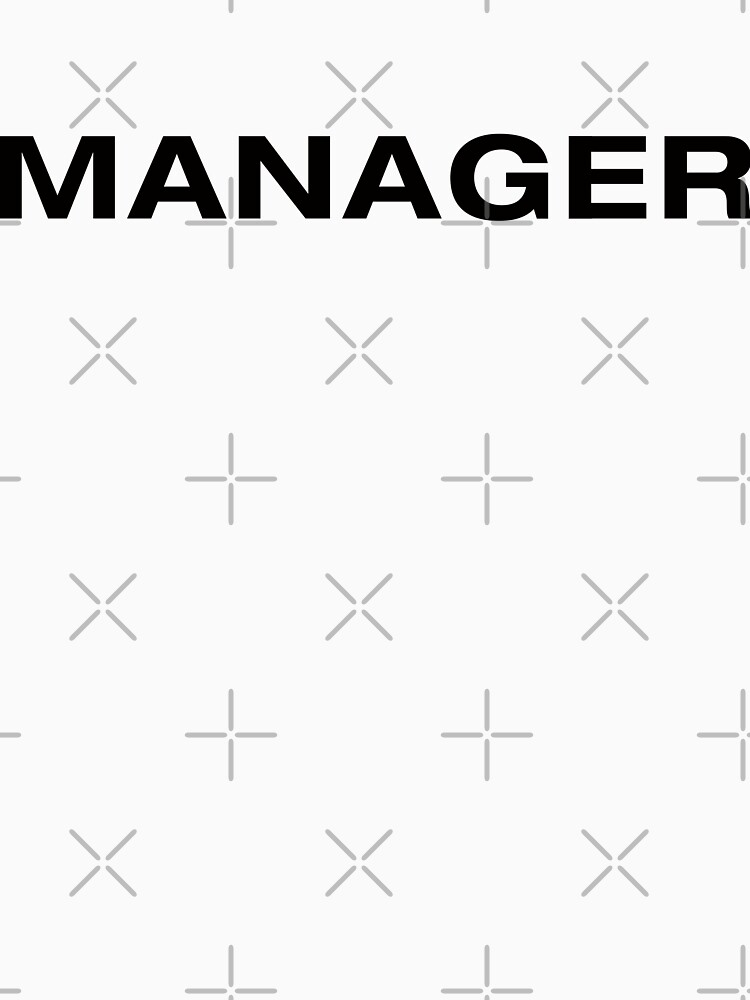 Manager (BlackText) by RoufXis