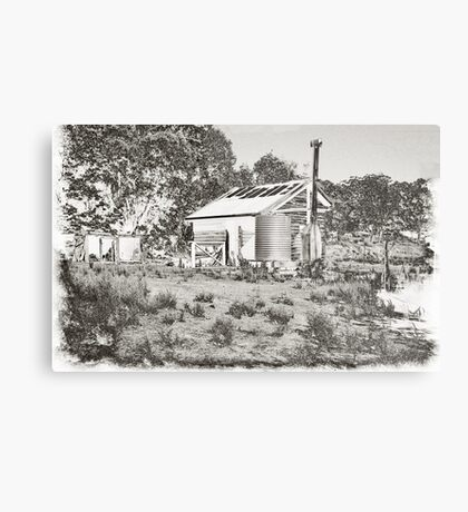 Another Shack on the Donnelly Metal Print