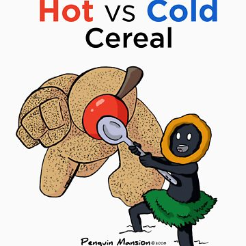 Hot vs Cold Cereal by cmgerard