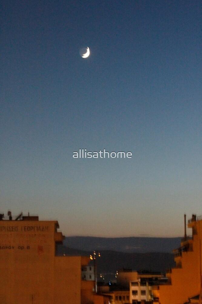 Shaky Moon by allisathome