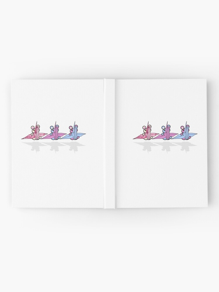 Alternate view of Three Chibis: Senbazuru Hardcover Journal
