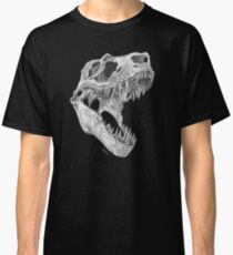 Camiseta clásica T-rex skull