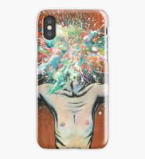 The Vulnerability Evoked in Failing to Capture the Mind's Ceaselessly Combusting Ephemera iPhone Case/Skin