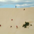 Dune Scramble,Robe South Australia by Joe Mortelliti