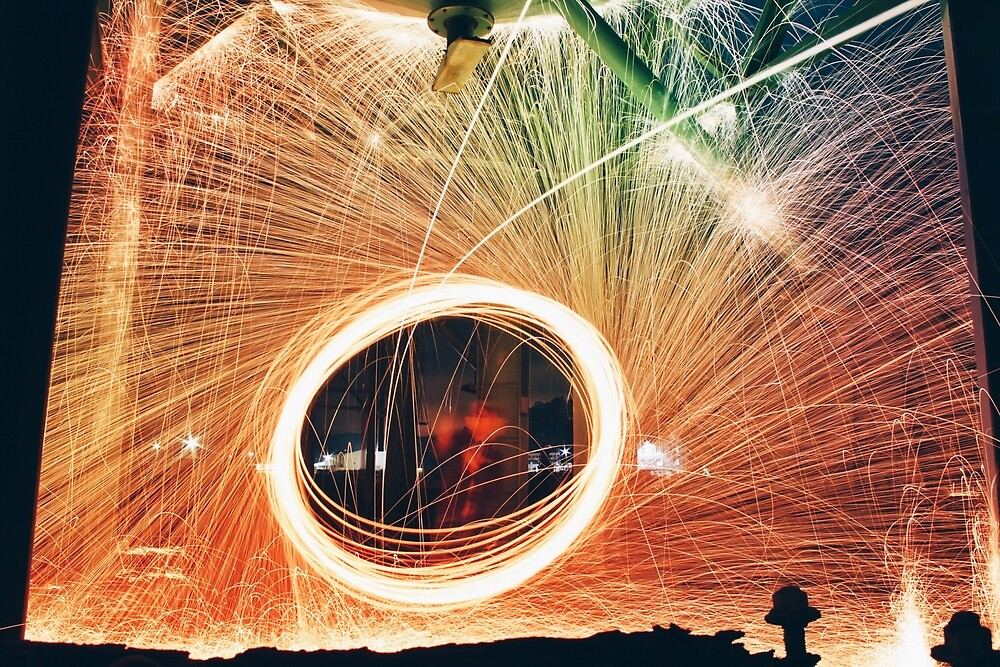 Spinning Sparks by nataliebaeza