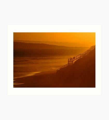 Thirteen Beach, End Of Day Art Print