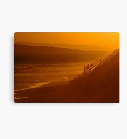 Thirteen Beach, End Of Day Canvas Print