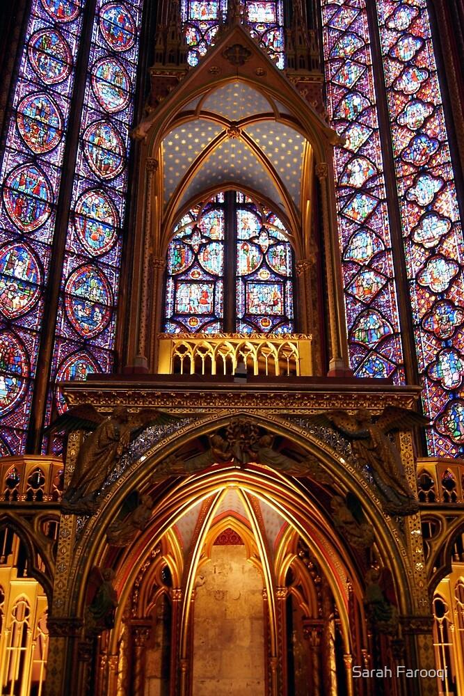 Sainte Chapelle by Sarah Farooqi