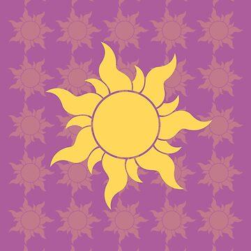 Sun Tangled - Rapunzel by MarylinRam18