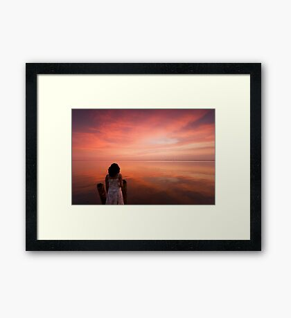 Quietude Framed Print