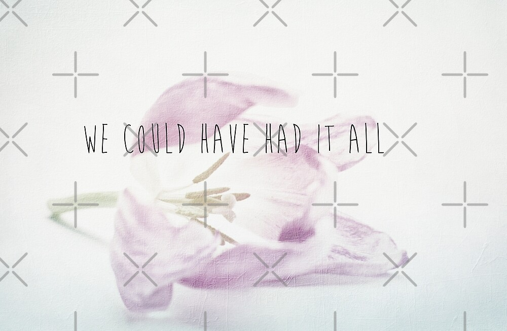 We Could Have Had It All by Denise Abé