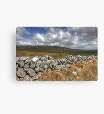 Rural Burren View Canvas Print