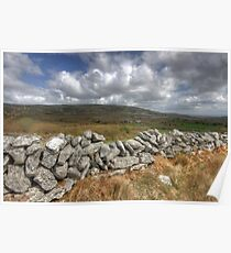Rural Burren View Poster