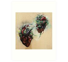 Arrested Vascular Fusion of Two Entities in Need Art Print
