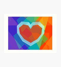 Heart (LGBT) Art Print