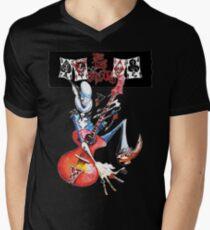 Hunde D'Amour 4 T-Shirt mit V-Ausschnitt für Männer
