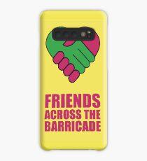 Funda/vinilo para Samsung Galaxy Amigos a través de la barricada