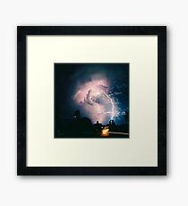 Blitzen Framed Print