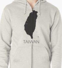 Simply Taiwan Zipped Hoodie