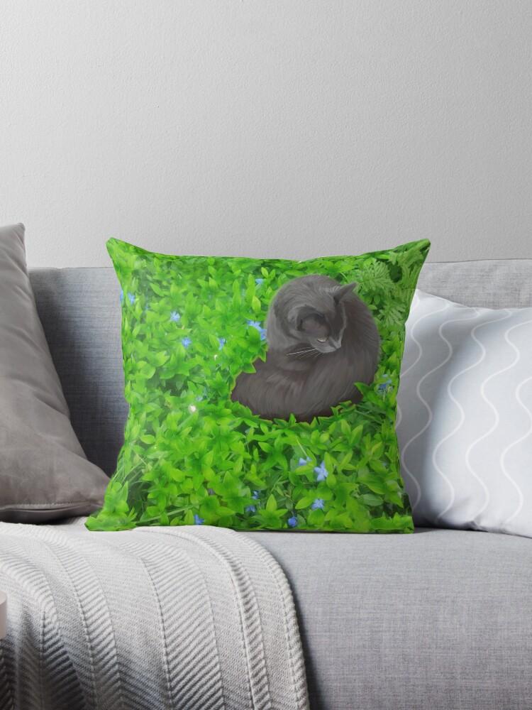 Flower Kitty by eleanorose123