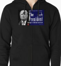 The President Zipped Hoodie