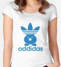 Oddidas Tailliertes Rundhals-Shirt