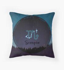 Scorpio Zodiac Sign Character Traits Floor Pillow