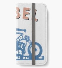 Shovelhead Rebel iPhone Flip-Case/Hülle/Skin