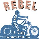 Shovelhead Rebel von SAVALLAS