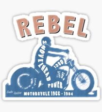 Shovelhead Rebel Sticker