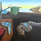 The Persistence of serpents, after Dali by SnakeArtist