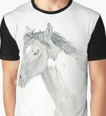 Zeichnung eines Pferdes Grafik T-Shirt