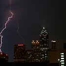 Atlanta Summertime Light Show by Will  Aymerich