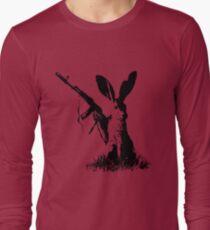 Jackrabbit with Kalashnikov Long Sleeve T-Shirt