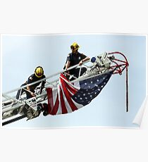 Unveiling The US Flag Poster