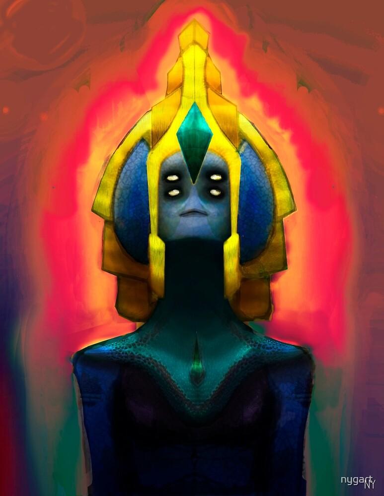 Alien Queen by nygart