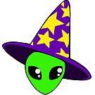 Alien wizard by SailorsMouth
