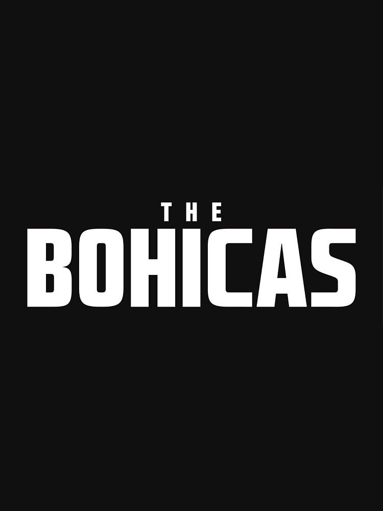 The Bohicas Logo (white) by katiej188